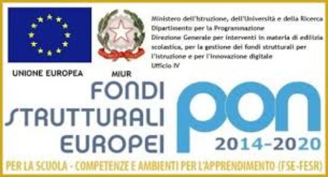 """PON -FSE - 2014-2020   """"Per la Scuola – competenze e ambienti per l'apprendimento"""""""