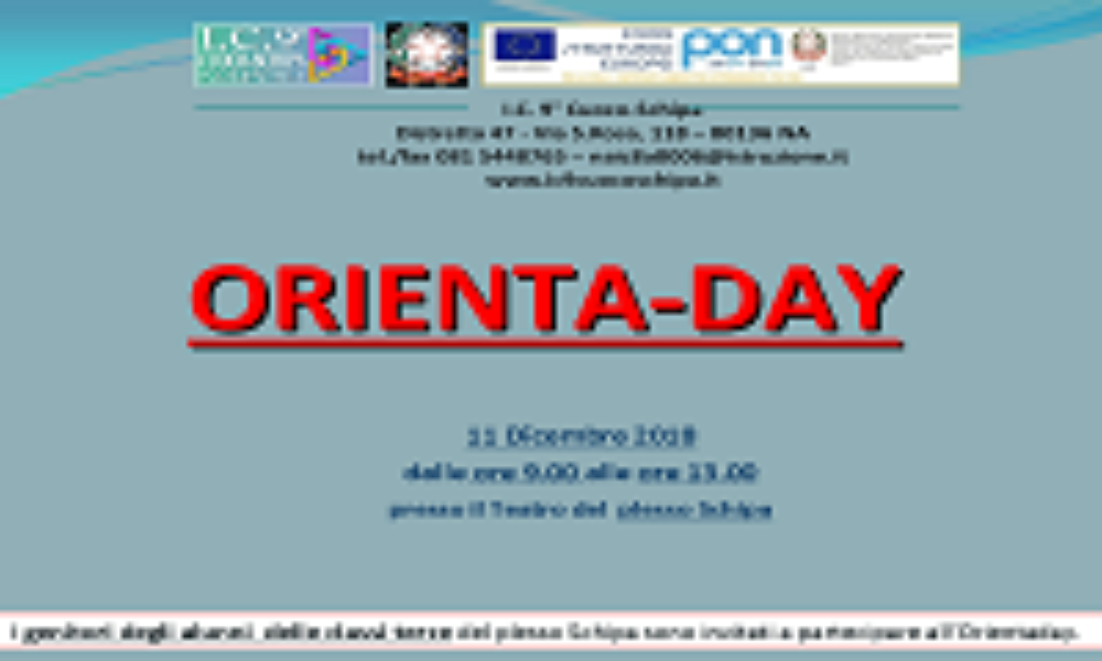 Orientaday