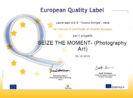 certificato qualità europea